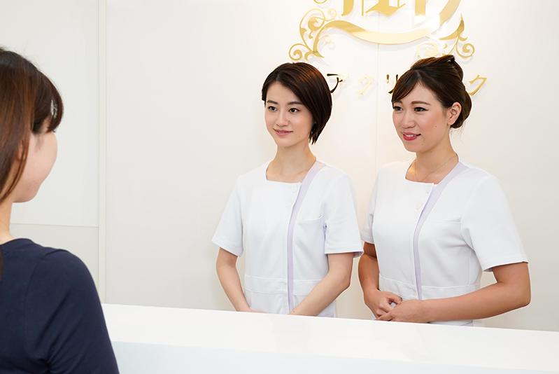 横浜マリアクリニックは、痛みを軽減するために様々な工夫をしています